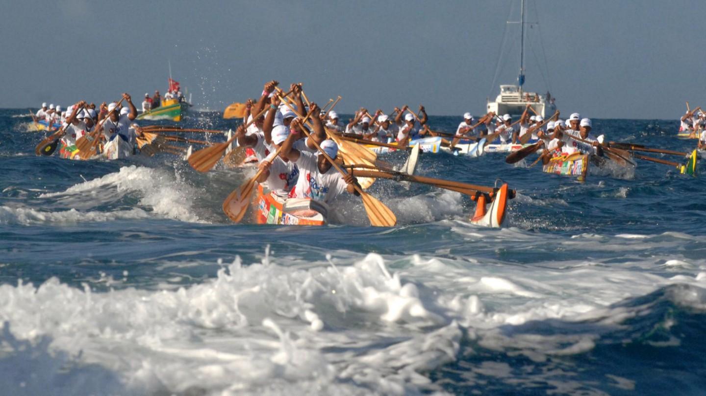 Raiatea the place where sailing and regattas are kings for The big canoe